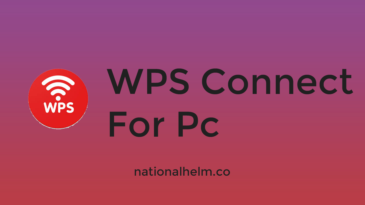 wps connect for pc